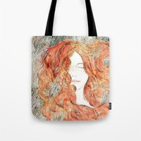 perfume Tote Bags featuring Perfume #1 by Dao Linh