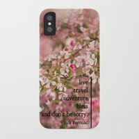 kerouac iPhone & iPod Cases featuring rules of life - jack kerouac  by lissalaine