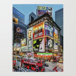 Times Square III Special Edition I Poster