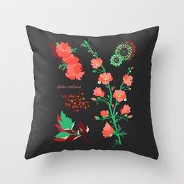 GLOBE MALLOW Throw Pillow
