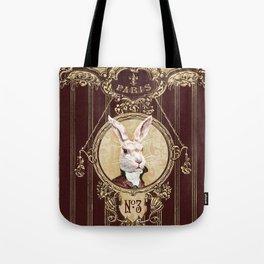 Chocolate rabbit Tote Bag