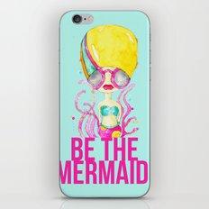 golden.  a happy mermaid iPhone & iPod Skin