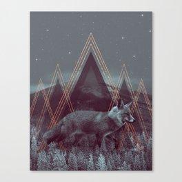 In Wildness   Fox Canvas Print