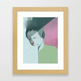 Logos Framed Art Print