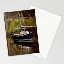Little River Boat. Stationery Cards