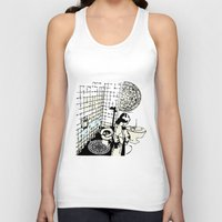 toilet Tank Tops featuring TOILET CLEANING by Sofia Youshi
