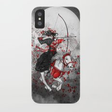 Horse and Rider - Yabusame iPhone X Slim Case