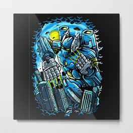 Destroy The City Metal Print