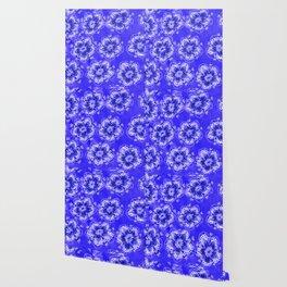 Blue Autumn Violet Wallpaper