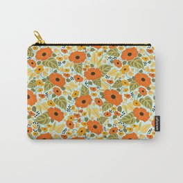 Black eyed Susan pattern print Carry-All Pouch