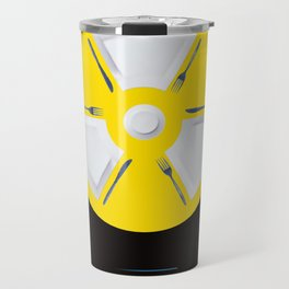 Polluted - Dinner Time Travel Mug