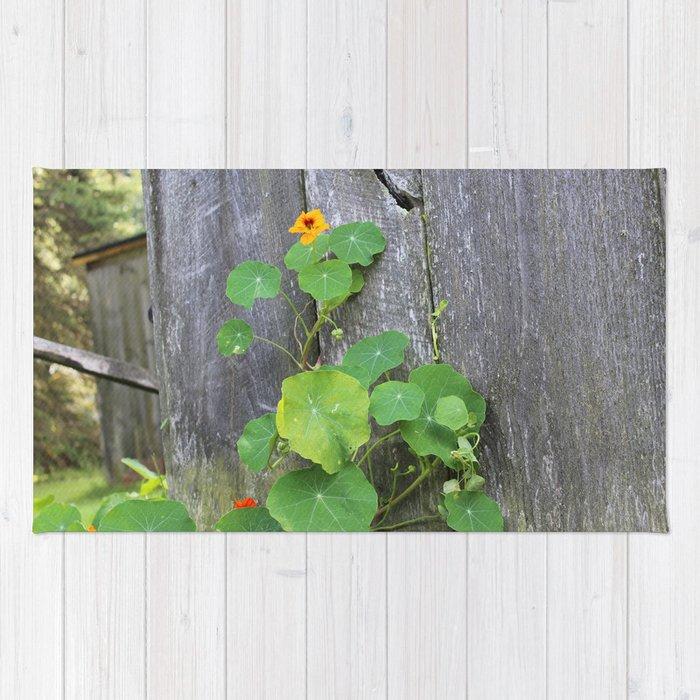 The Garden Wall Rug