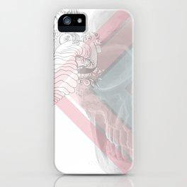 Skull Doodle iPhone Case