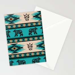 American Native Pattern No. 126 Stationery Cards