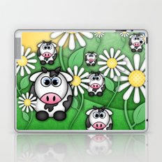 Cows & Daisies  Laptop & iPad Skin