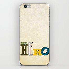 myHERO iPhone Skin