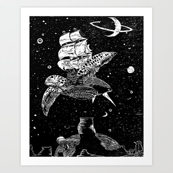 Sobaloopsian Father & Son Art Print