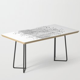 Seismograph Field Coffee Table