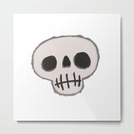 Skull-King Metal Print
