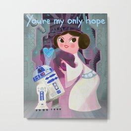 My Only Hope. Metal Print