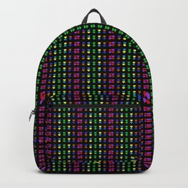 Colorful Hearts Backpack
