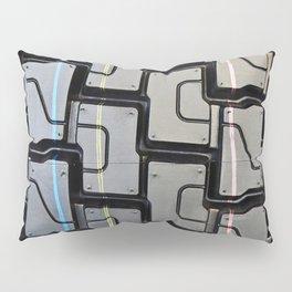 Tread pattern on truck tire Pillow Sham