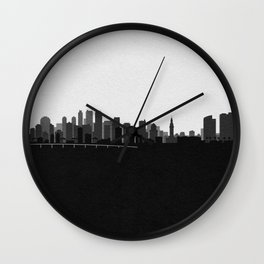 City Skylines: Miami (Alternative) Wall Clock