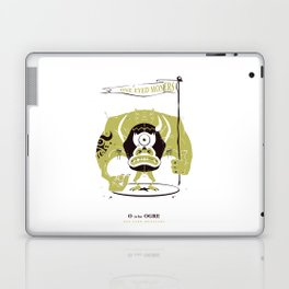 O is for Ogre Laptop & iPad Skin