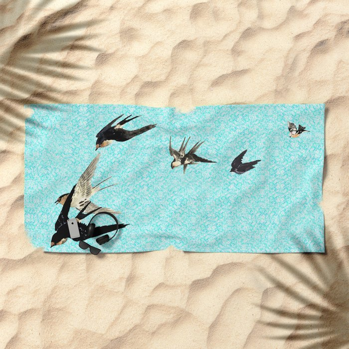 If I could I would Beach Towel