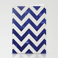 chevron Stationery Cards featuring ChEVRON by Monika Strigel