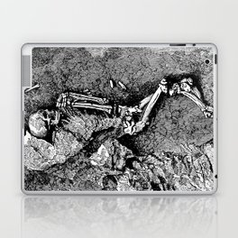 Remains of Prehistoric Man Laptop & iPad Skin
