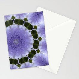 Mauve Kaleidoscope Stationery Cards
