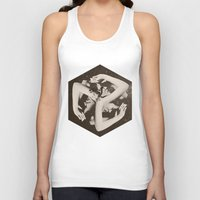 lady gaga Tank Tops featuring BOX by Ali GULEC