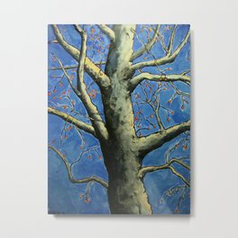 The Berry Tree Metal Print