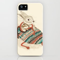 cozy chipmunk iPhone (5, 5s) Slim Case