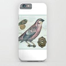 Vintage boho and bird Slim Case iPhone 6s