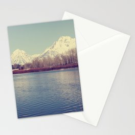 Grand Tetons on the Lake Stationery Cards
