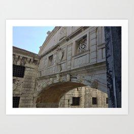 Bridge of Sighs, Doge's Palace, Venice, Italy Art Print
