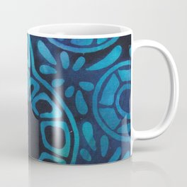 Blue Batik 09 Coffee Mug