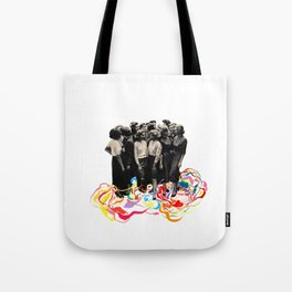 We are all cool though! Tote Bag