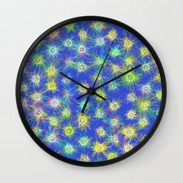 I Delight in Fireflies Wall Clock