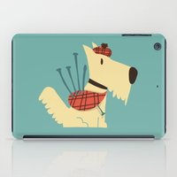 terrier iPad Cases featuring Scottish  Terrier - My Pet by Picomodi