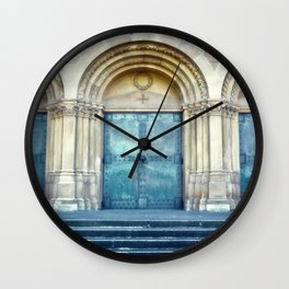 Church door Wall Clock