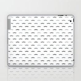 Grey Mustache Laptop & iPad Skin