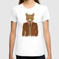 mr fox T-shirts featuring mr fox by bri.buckley