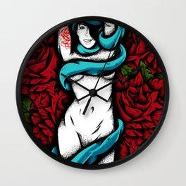 Meet rose  Wall Clock