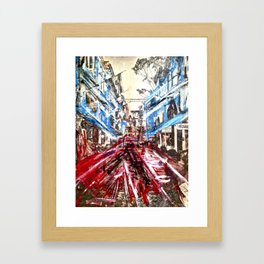D.R. Pho. Framed Art Print