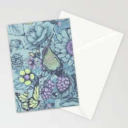 Beauty (eye of the beholder) - aqua version Stationery Cards