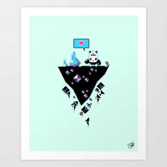 PandaC Art Print