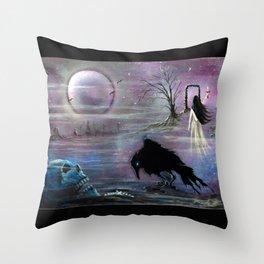 Nevermore Evermore  Throw Pillow